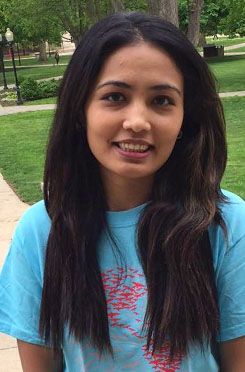 Illinois State mentor, Mamta Shrestha